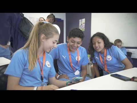 Learn English and train at the home of Manchester City
